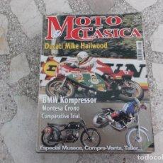 Coches y Motocicletas: MOTO CLASICA Nº 2, DUCATI MIKE HAILWOOD, BMW KOMPRESSOR, MONTESA CRONO, COMPARATIVA TRIAL. Lote 206969275