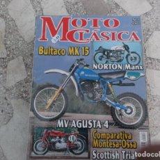Coches y Motocicletas: MOTO CLASICA Nº 3, BULTACO MK 15, NORTON MANX, MV AGUSTA 4, COMPARATIVA MONTESA-OSSA, SCOTTISH TRIAL. Lote 206970486