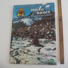 Coches y Motocicletas: REVISTA MOTO SPORT Nº 59. 1976. Lote 207128218