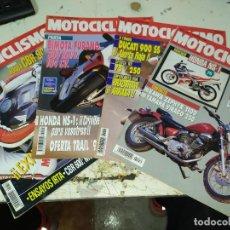 Coches y Motocicletas: LOTE DE 4 REVISTAS MOTOCICLISMO AÑO 1992 MES DE FEBRERO. Lote 207273626