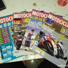 Coches y Motocicletas: LOTE DE 4 REVISTAS MOTOCICLISMO AÑO 1992 MES DE JUNIO. Lote 207275127