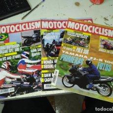 Coches y Motocicletas: LOTE DE 3 REVISTAS MOTOCICLISMO AÑO 1992 MES DE AGOSTO. Lote 207276192