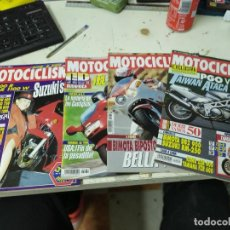 Coches y Motocicletas: LOTE DE 4 REVISTAS MOTOCICLISMO AÑO 1992 MES DE SEPTIEMBRE. Lote 207276578
