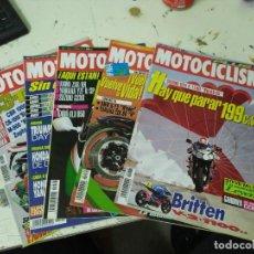 Coches y Motocicletas: LOTE DE 5 REVISTAS MOTOCICLISMO AÑO 1992 MES DE OCTUBRE. Lote 207277180