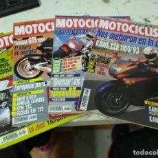 Coches y Motocicletas: LOTE DE 4 REVISTAS MOTOCICLISMO AÑO 1992 MES DE NOVIEMBRE. Lote 207277438