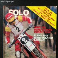 Automobili e Motociclette: SOLO MOTO Nº 276 - CULLERA SHIFTY 900 BRUNO KNEUBUHLER TRIAL BELGICA HONDA 360 TRIAL MOTOCROSS. Lote 207423670
