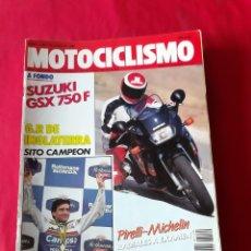 Coches y Motocicletas: LOTE DE 7 REVISTAS MOTOCICLISMO AÑO 89 Y 90. Lote 208303176