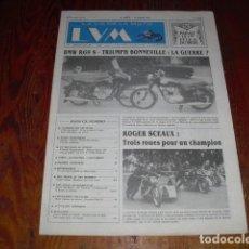 Coches y Motocicletas: LA VIE DE LA MOTO Nº 88/01 DEL AÑO 1988. Lote 210415892