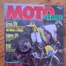 Coches y Motocicletas: REVISTAS MOTO VERDE. Lote 210584718