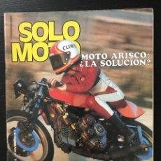 Coches y Motocicletas: SOLO MOTO Nº 115 - 150 MILLAS MOLLET BRANDS HATCH NORTON COSWORTH POSTER ARCARONS MONTESA ARISCO 250. Lote 211418070