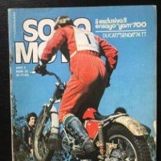 Coches y Motocicletas: SOLO MOTO Nº 25 - DUCATI SENDA 74 YAMAHA 700 COMPETICION GIMSON SKIPPER 50 POSTER ANGEL NIETO. Lote 211448472