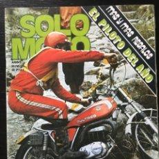 Coches y Motocicletas: SOLO MOTO Nº 17 - ONTARIO 200 MILLAS JAPAUTO 1000 TRIAL CAMPEONES ESPAÑA CUESTA A LA RABASSADA. Lote 211448985
