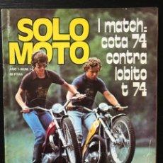 Coches y Motocicletas: SOLO MOTO Nº 14 - GP BELGICA MOTOCROSS BULTACO LOBITO 74T MONTESA COTA 74 VELOCIDAD ULLDECONA. Lote 211449255