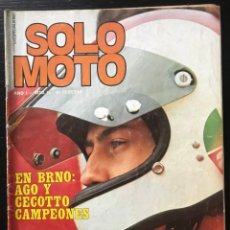Coches y Motocicletas: SOLO MOTO Nº 13 - KTM 250 GP CHECOSLOVAQUIA GP ESPAÑA MOTOCROSS TRIAL FINLANDIA 24 HORAS SPA. Lote 211449366