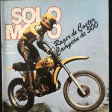 Coches y Motocicletas: SOLO MOTO Nº 12 - BULTACO LOBITO 74 T GP FINLANDIA BULTACO 238 TRIAL GP SUECIA MOTOCROSS. Lote 211449452