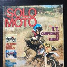 Coches y Motocicletas: SOLO MOTO Nº 2 - HARLEY DAVIDSON 250 MONTESA COTA 172 CUESTA MONTSERRAT MOTOCROSS MOLLET. Lote 211449585
