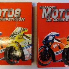 Coches y Motocicletas: GRANDES MOTOS DE COMPETICION COMPLETA, EN 2 CARPETAS ARCHIVADORAS ALTAYA. Lote 108425151
