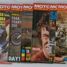 Coches y Motocicletas: LOTE 11 NÚMEROS REVISTA - MOTOCICLISMO - TODOS DEL AÑO 1974. Lote 211642134