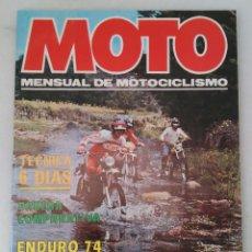Coches y Motocicletas: REVISTA - MOTO - NÚMERO 1. OCTUBRE 1977. Lote 211648858