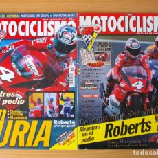 Coches y Motocicletas: MOTOCICLISMO 20 REVISTAS AÑO 1999 ALEX CRIVILLÈ CAMPEON DEL MUNDO. Lote 212410467
