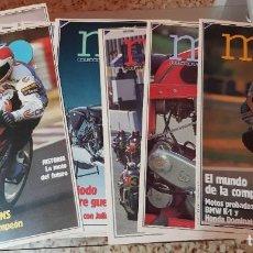 Coches y Motocicletas: LOTE 18 FASCÍCULOS COLECCIONABLES - GENTE EN MOTO - DIARIO 16 - COMPLETO SIN TAPAS. Lote 212553391