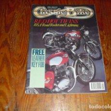 Coches y Motocicletas: CLASSIC BIKE - APRIL 1990 Nº 123. Lote 213727903