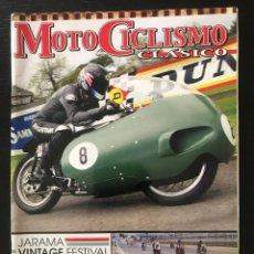 Coches y Motocicletas: MOTOCICLISMO CLASICO Nº 130 - GUZZI 500 V8T IMPALADA JARAMA VINTAGE FESTIVAL ITALJET 350 T RIEJU 175. Lote 213728635