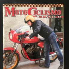 Coches y Motocicletas: MOTOCICLISMO CLASICO Nº 128 - MORINI 350 SPORT DUCATI 750 SS HAILWOOD VESPA ESPIRITU MONTJUIC FANTIC. Lote 213728998
