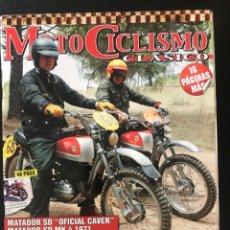 Coches y Motocicletas: MOTOCICLISMO CLASICO Nº 119 - CORONAT DUCADOS SANCHEZ MARIN BULTACO MATADOR BSA TRIAL MERLIN DG3.50. Lote 213729385