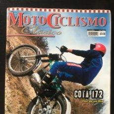 Coches y Motocicletas: MOTOCICLISMO CLASICO Nº 103 - MONTESA COTA 172 VINCENT GUZZI MILITAR PEUGEOT 500 GP CLASSIC AUTO. Lote 213729856