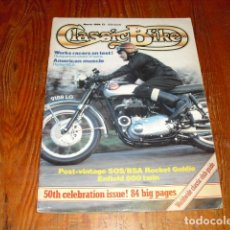 Coches y Motocicletas: CLASSIC BIKE - MARCH 1984 Nº 50. Lote 213731050