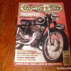 Coches y Motocicletas: CLASSIC BIKE - AUGUST 1994 Nº 169. Lote 213805801