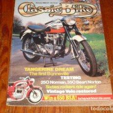 Carros e motociclos: CLASSIC BIKE JANUARY 1984 Nº 48. Lote 214002876