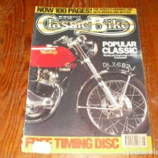 Coches y Motocicletas: CLASSIC BIKE MAY 1992 Nº148 - NORTON COMMANDO. Lote 214211380