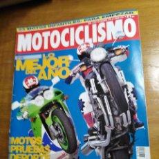 Carros e motociclos: REVISTA MOTOCICLISMO Nº 1349 DICIEMBRE 1993 - YAMAHA FZR 1000/94, HONDA NSR 250 R. Lote 214918538