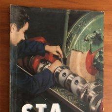 Coches y Motocicletas: REVISTA STA NUM. 13 , 19652 SOCIEDAD DE TÉCNICOS DE AUTOMOCIÓN. Lote 216888520