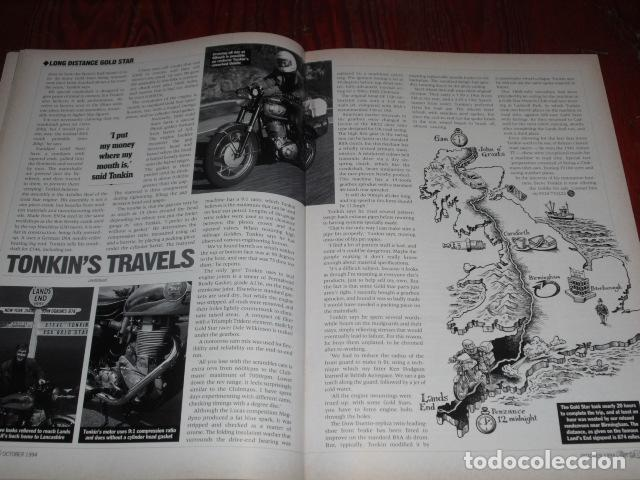Coches y Motocicletas: CLASSIC BIKE OCTOBER 1994 Nº 177 - Foto 7 - 217556916