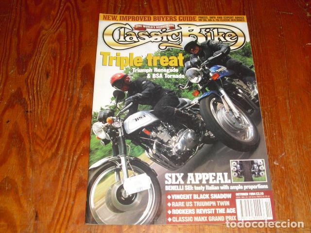 CLASSIC BIKE OCTOBER 1994 Nº 177 (Coches y Motocicletas - Revistas de Motos y Motocicletas)