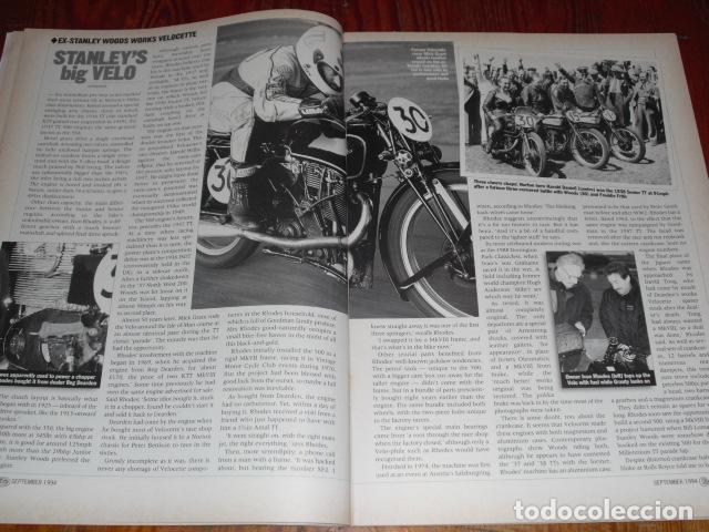 Coches y Motocicletas: CLASSIC BIKE SEPTEMBER 1994 Nº 176 - Foto 9 - 217559950