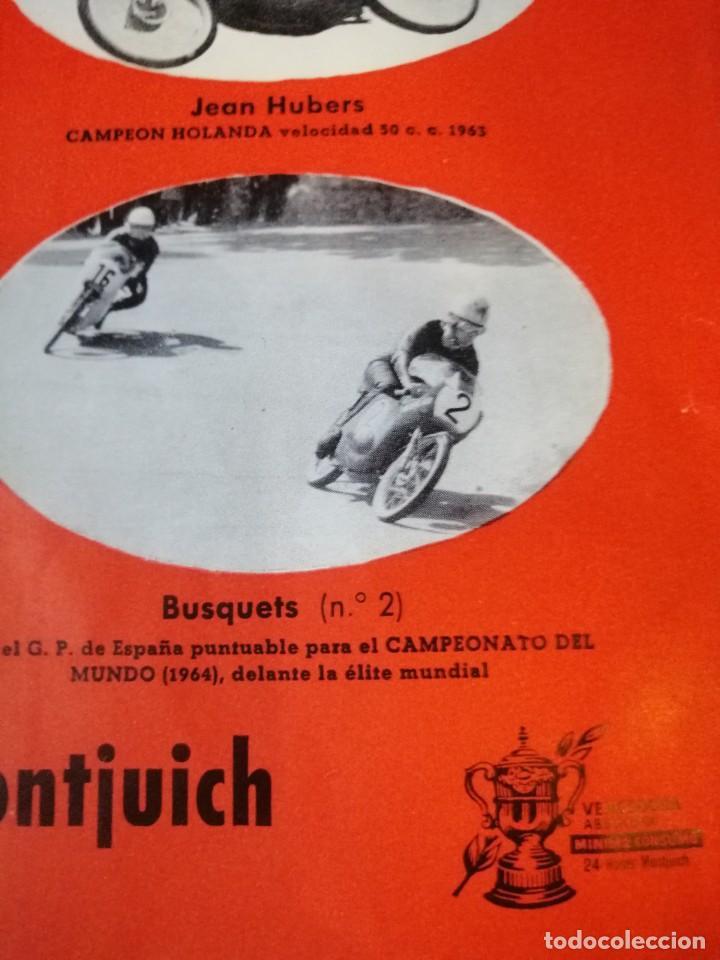Coches y Motocicletas: Cartel antiguo uo moto Derbi - Foto 6 - 217631061