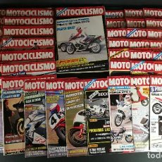 Coches y Motocicletas: LOTE REVISTA MOTOCICLISMO MOTO MOTOR AÑO COMPLETO 1986 52 EJEMPLARES SUPER OFERTA!!!. Lote 218761192