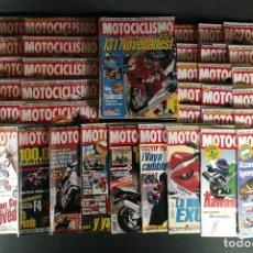 Coches y Motocicletas: LOTE REVISTA MOTOCICLISMO MOTO MOTOR AÑO COMPLETO 1995 53 EJEMPLARES SUPER OFERTA!!!. Lote 218761860