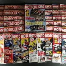 Coches y Motocicletas: LOTE REVISTA MOTOCICLISMO MOTO MOTOR AÑO COMPLETO 1996 50 EJEMPLARES SUPER OFERTA!!!. Lote 218762381