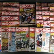 Coches y Motocicletas: LOTE REVISTA MOTOCICLISMO MOTO MOTOR AÑO CASI COMPLETO 1993 40 EJEMPLARES SUPER OFERTA!!!. Lote 218762801