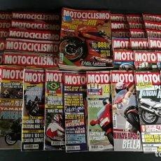 Coches y Motocicletas: LOTE REVISTA MOTOCICLISMO MOTO MOTOR AÑO COMPLETO 1992 53 EJEMPLARES SUPER OFERTA!!!. Lote 218763317