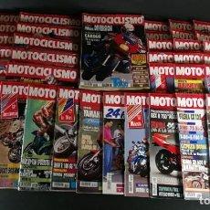 Coches y Motocicletas: LOTE REVISTA MOTOCICLISMO MOTO MOTOR AÑO COMPLETO 1991 50 EJEMPLARES SUPER OFERTA!!!. Lote 218764021