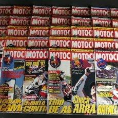 Coches y Motocicletas: LOTE REVISTA MOTOCICLISMO MOTO MOTOR AÑO 1996 37 EJEMPLARES SUPER OFERTA!!!. Lote 218777801