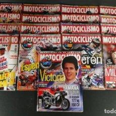 Coches y Motocicletas: LOTE REVISTA MOTOCICLISMO MOTO MOTOR AÑO 1997 17 EJEMPLARES SUPER OFERTA!!!. Lote 218778665