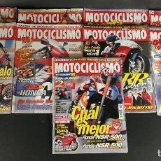 Coches y Motocicletas: LOTE REVISTA MOTOCICLISMO MOTO MOTOR AÑO 1998 9 EJEMPLARES SUPER OFERTA!!!. Lote 218779475