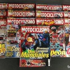 Coches y Motocicletas: LOTE REVISTA MOTOCICLISMO MOTO MOTOR AÑO 1999 13 EJEMPLARES SUPER OFERTA!!!. Lote 218780530